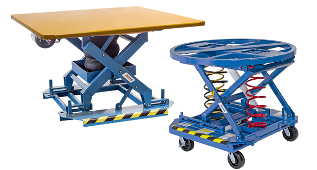 Pallet Carousel & Skid Positioners
